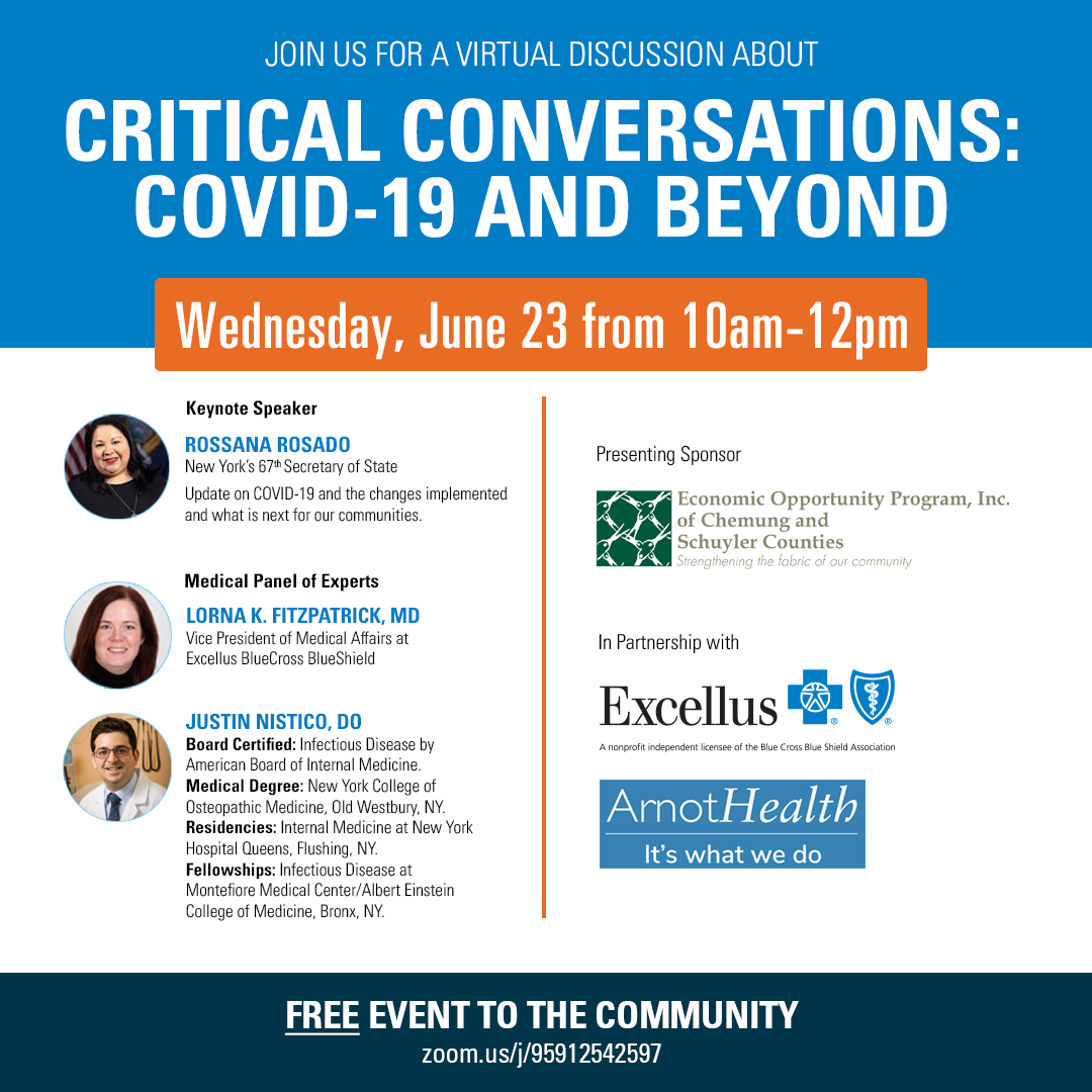 Critical Conversations:  COVID-19 and Beyond