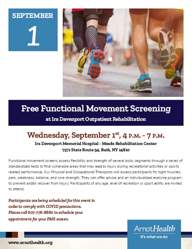 Free Functional Movement Screening